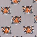 Blizzard Fleece Fabric-Tigers