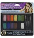 Tulip Body Art Paint Palette 15pc-Rainbow