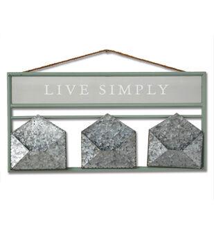 Simply Spring Wall Decor with Envelope Shelf-Live Simply
