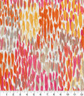 Kelly Ripa Home Outdoor Decor Fabric 54\u0022-Coral Make It Rain