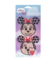 American Crafts Stickers-Emoji Minnie Bling, , hi-res