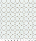 P/K Lifestyles Multi-Purpose Decor Fabric 57\u0027\u0027-Mineral Ringtone Embroidery