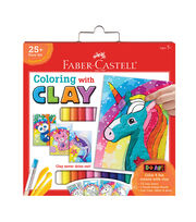Faber-Castell Coloring With Clay-Unicorn & Friends, , hi-res