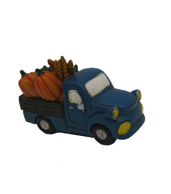 Simply Autumn Littles Blue Truck with Veggies