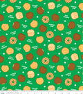 Girl Scout Cotton Fabric -Cookies