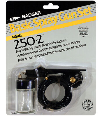 Badger Air Brush Basic Spray Gun Set