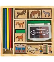 Melissa & Doug Horses Stamp Set, , hi-res