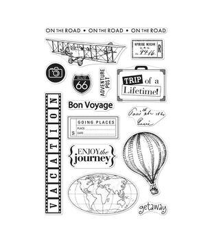 Hero Arts Clear Stamp Set Travel