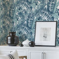 Wallpops Peel & Stick Wallpaper-Blue Maui