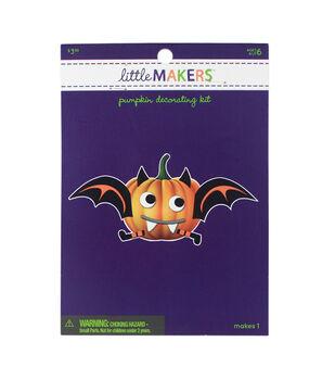 Little Makers Halloween Foam Pumpkin Decorating Kit-Bat