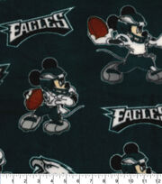 Philadelphia Eagles Fleece Fabric-Mickey, , hi-res