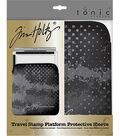 Tonic Studio Tim Holtz Travel Stamp Platform Protective Zipper Sleeve