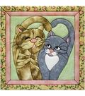 Cats Meow Quilt Magic Kit-12\u0022X12\u0022