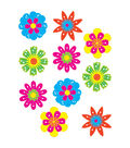 Fun Flowers Accents 30/pk, Set of 6 Packs