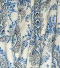 ED Ellen DeGeneres Upholstery Fabric 54\u0027\u0027-Indigo La Brea