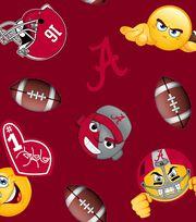 "University of Alabama Crimson Tide Fleece Fabric 60""-Emoji, , hi-res"