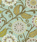 Home Decor 8\u0022x8\u0022 Fabric Swatch-HGTV HOME Urban Blosson Glacier