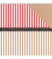 Kaisercraft Holly Jolly Double-Sided Cardstock-Zingy, , hi-res