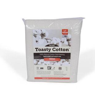 Fairfield Toasty Cotton Batting-Twin