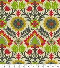 Waverly Sun N Shade Fabric-Santa Maria Jewel