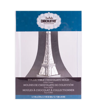 ChocoMaker Chocolatier 3D Collectible Metal Eiffel Tower Chocolate Mold