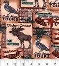 Snuggle Flannel Fabric 42\u0022-Cedar Creek Patch