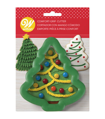 Wilton Large Holiday Tree Comfort-Grip Cookie Cutter