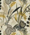 Home Decor 8\u0022x8\u0022 Fabric Swatch-Waverly Sns Fishbowl Caviar