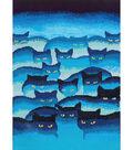 Diamond Embroidery Facet Art Kit 31.5\u0022X25\u0022-Smokey Mountain Cats