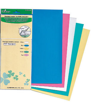 "Clover Chacopy Tracing Paper 12""x10"" 5/pkg"