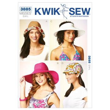 Kwik Sew Misses Totes & Bags-K3885