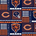 Chicago Bears Cotton Fabric -Patch
