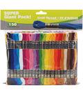 Craft Thread Cotton Super Jumbo Pack 9m 150/Pkg