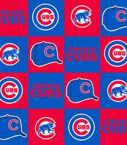 Chicago Cubs Fleece Fabric -Block, , hi-res