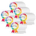 Creative Teaching Press Painted Palette Happy Birthday Badge, 36/Pack