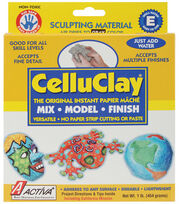 Activa Celluclay Instant Papier Mache-1lb./Gray, , hi-res
