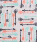Blizzard Fleece Fabric 59\u0027\u0027-Breeze Arrows