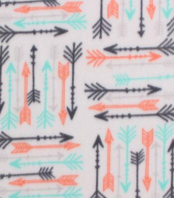 "Blizzard Fleece Fabric 59""-Breeze Arrows"