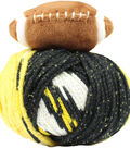DMC Top This! Team Colors Yarn-Black & Gold