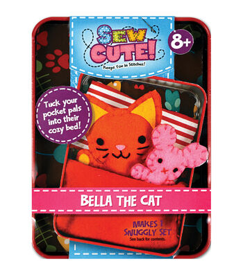 Sew Cute Tin Cat