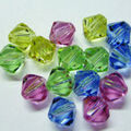 Cousin 15 pk 6 mm Bicone Mix Beads-Pastels
