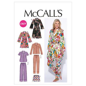 McCall's Misses Sleep & Lounge-M6659