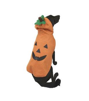 Maker's Halloween Pet Costume-Pumpkin Medium