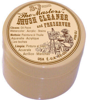 The Master's Brush Cleaner & Preserver-1oz