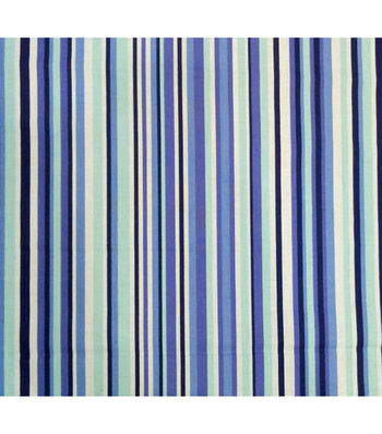 Quilter's Showcase Cotton Fabric-Stripes Navy Purple