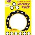 Trend Enterprises, Inc. Dot Circles Classic Accents, 36/Pack, 3 Packs