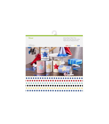 Cricut 10 Pack 12''x12'' Deluxe Papers-Party Time