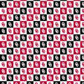 University of Oklahoma Sooners Cotton Fabric-Collegiate Checks