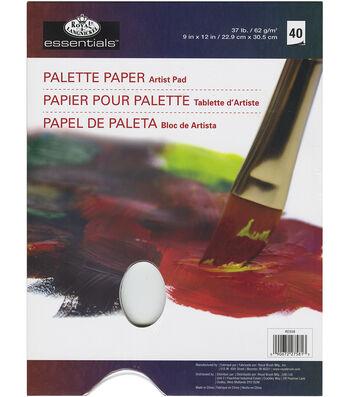 "essentials(TM) Palette Artist Paper Pad 9""X12""-40 Sheets"