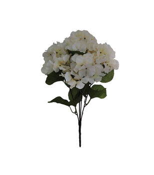 Blooming Autumn Water Resistant Hydrangea Bush-Cream